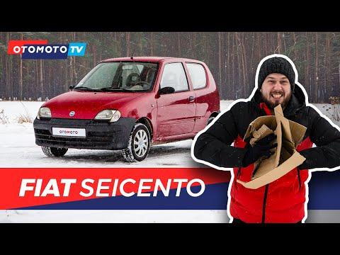 Fiat Seicento - Karton na kółkach   Test OTOMOTO TV