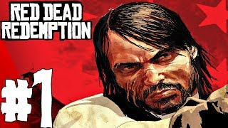 Red Dead Redemption - Gameplay Walkthrough Part 1 - Prologue (Full Game)