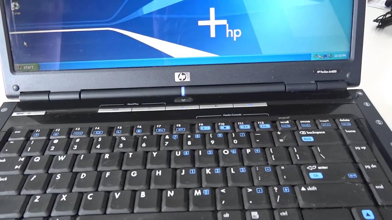 HP PAVILLION DV4000 VIDEO DRIVERS FOR WINDOWS