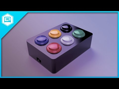 Layer by Layer –Parametric Arcade Button Box