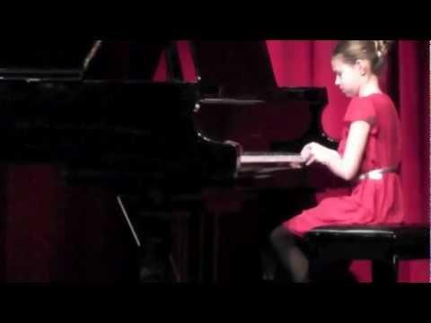 Morgan's talent show performance