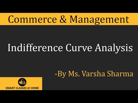 Indifference Curve Analysis,  MBA by Ms. Varsha Sharma, Biyani Groups of Colleges