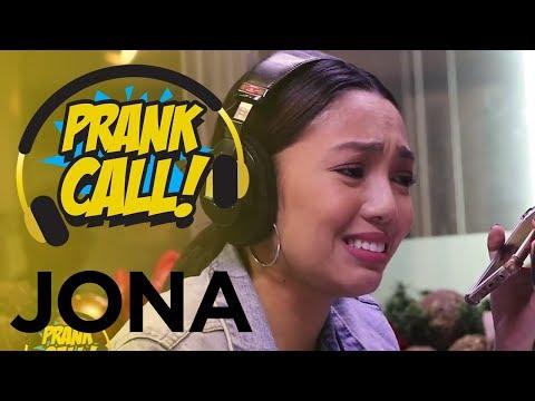 Prank Call: Jona inutangan na si Angeline Quinto, pinakanta pa!