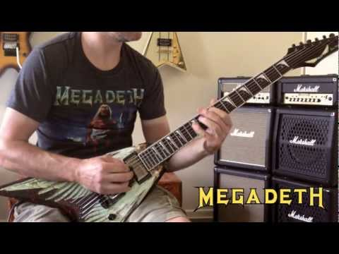 Megadeth - Holy Wars... All Guitars Cover (No Backing Track)