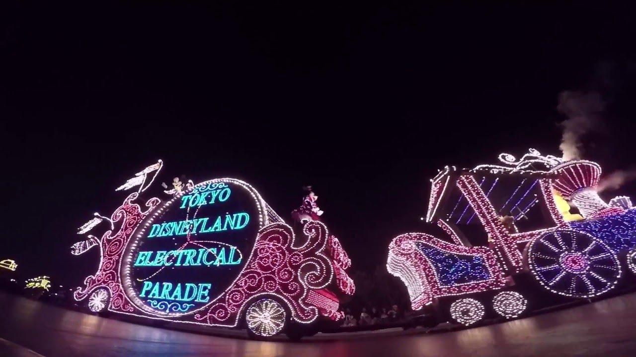 2016年1月東京ディズニーランド エレクトリカルパレード・ドリーム