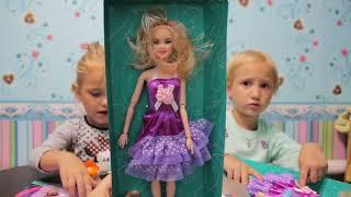 Покупки для детей с Fix Price кукла Аврора, одежда для куклы, раскраска littel poni