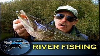 Beginners River Fishing Tips (Part1) - Swim Selection in Small Rivers - TAFishing