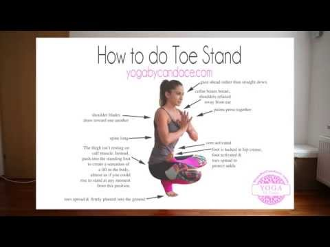 How to do Toe Stand
