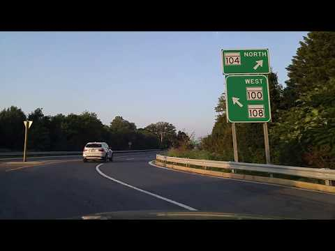 Driving from Columbia to Ellicott City,Maryland