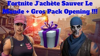 Fortnite I Buy Save the World - Big Pack Opening !!!