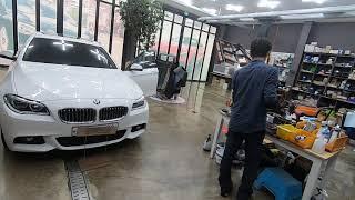 BMW 520D 순정룸미러 브라켓이 부러진 룸미러의 고…
