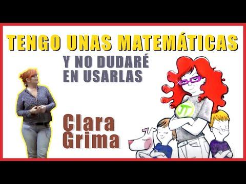 """""""Tengo unas matemáticas y no dudaré en usarlas"""", conferencia de Clara Grima Ruiz"""