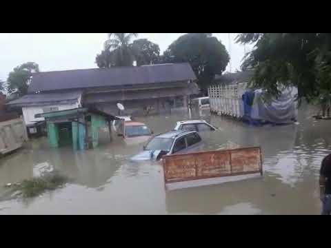 Notional highway 37 at Jakhalabandha  Flood...