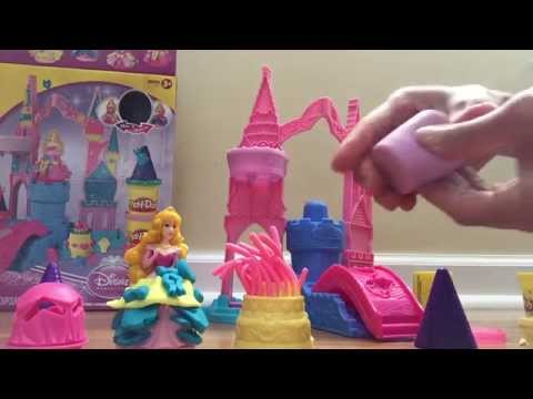 Play Doh Palacio Design Magico da princesa Aurora /Magical Design Palace
