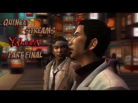 Quincey Streams Yakuza 1 (Part Final)