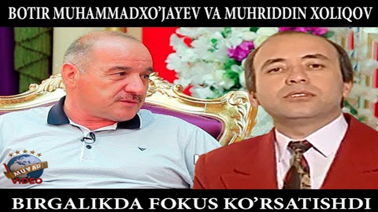 Muhriddin Xoliqov va Botir Muhammadxo`jaev birgalikda fo`kus ko`rsatishdi (Arxiv video)