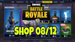Lo SHOP di oggi 8 DICEMBRE its FORTNITE: skin POINT INTERMEDIO, ABBAGLIO AND HYPERION