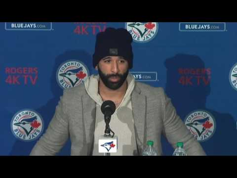 Video: José Bautista speaks on new Jays contract
