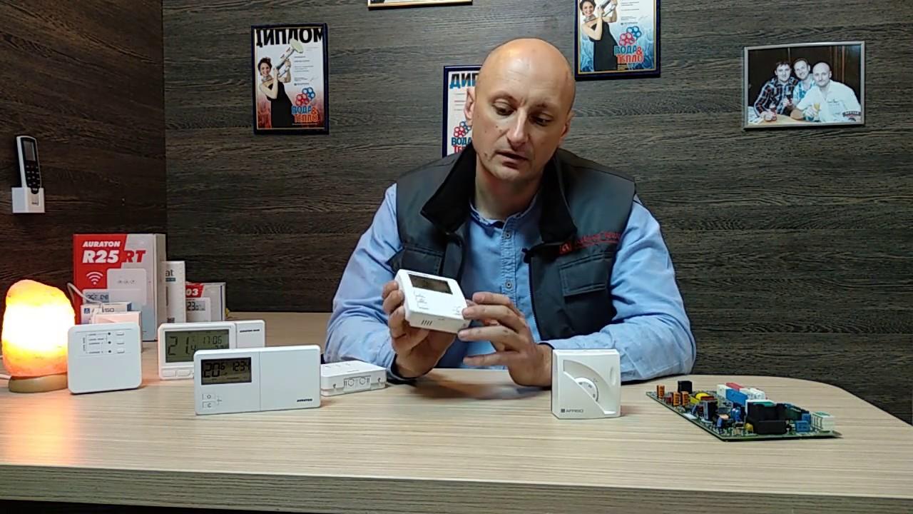 Комнатные термостаты для управления температурой в доме.