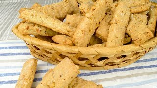 Сырные палочки  с арахисом к пиву | Cheese sticks  with peanut to beer