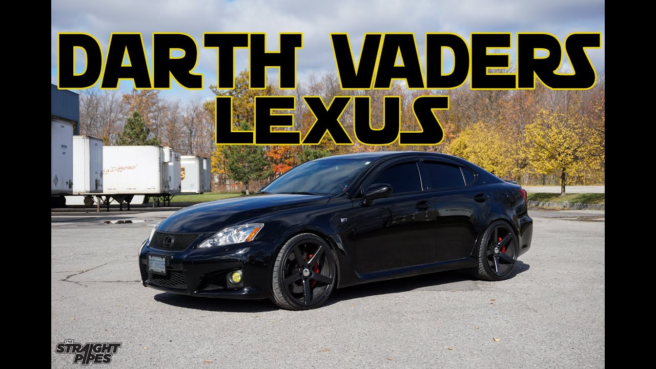 darth vader 39 s lexus isf custom exhaust pure sound youtube. Black Bedroom Furniture Sets. Home Design Ideas
