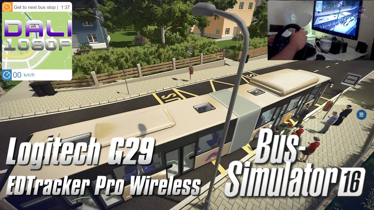 cede1a1d3d6 Jimmy Dali's Blog: Bus Simulator 16 | Logitech G29 & EDTracker Pro Wireless  head tracking (.