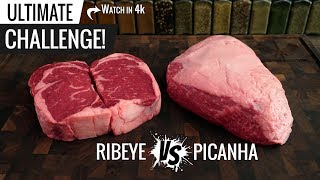 Sous Vide PICANHA vs RIBEYE the ultimate challenge! Cold Grate Technique