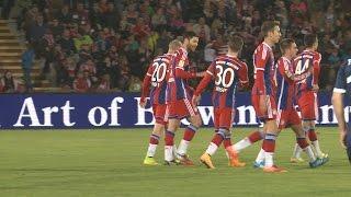 Paulaner Cup 2014: FC Bayern gewinnt 5:1 - alle Tore - Alonso trifft für FCB