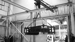 Первые мостовые краны собственного производства(Выпущены три крана мостового типа, которые стали первой продукцией в истории компании ООО