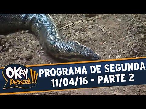 Okay Pessoal!!! (11/04/16) - Segunda - Parte 2