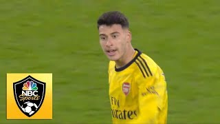 Gabriel Martinelli's first Premier League goal brings Arsenal level against West Ham | NBC Sports