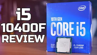 THE BEST 10th GEN CPU? - Intel i5 10400F Review - TechteamGB