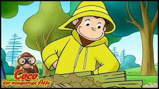 Coco der Neugierige 🐵 115 Coco baut einen Staudamm 🐵 Ganze Folgen 🐵 Cartoons für Kinder🐵 Staffel 1