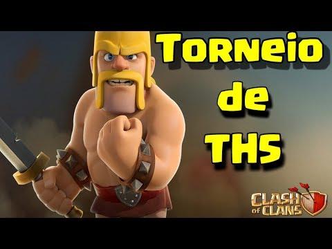 CLASH OF CLANS  - TORNEIO DE TH5  - BOA NOITE ! LIVE ON !!