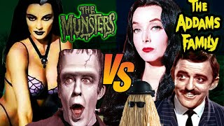 ADDAMS FAMILY VS MUNSTERS 🦇 WHOSE BETTER