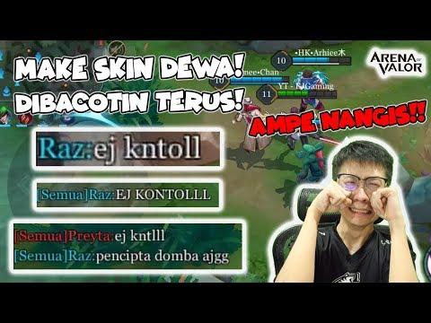 MAKE SKIN DEWA BUTTERFLY! DIBACOTIN PARAH AMPE NANGIS! - AOV Indonesia