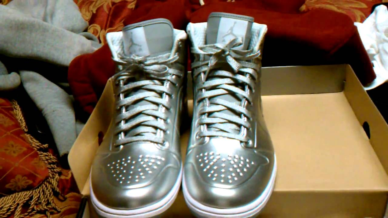 buy online 39cab 5b5c7 ... 50% off air jordan 1 anodized foamposite metallic silver white 473e7  44277