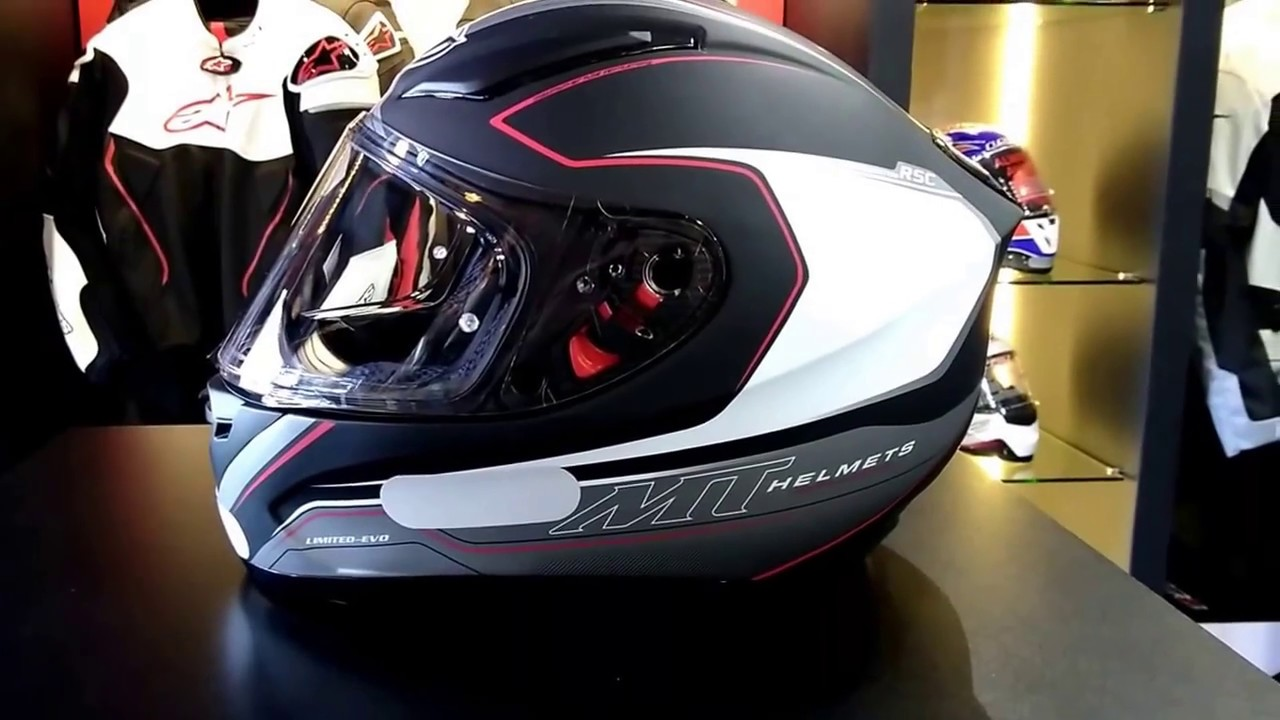 Capacete MT Revenge Limited Edition Fosco - YouTube 40f53431a5d