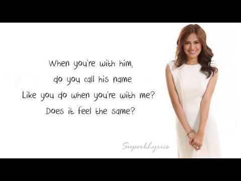 Julie Anne San Jose - Secret Love Song (Lyrics) (Little Mix ft. Jason Derulo)
