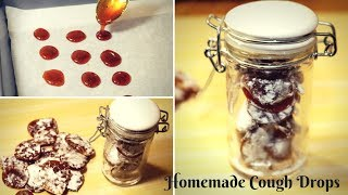Homemade Cough Drops l Homemade cough drops for cold & sore throat l Take A Bite