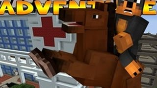 Minecraft - Donut the Dog Adventures - DONUT GOES TO HOSPITAL w/ Little Donny