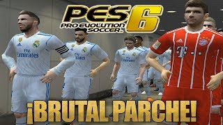 PES 6 ACTUALIZADO AL 2018!! | Infinitty Patch