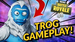 TROG Skin Gameplay In Fortnite Battle Royale