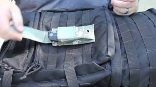 OneTigris HowTo: Attaching Gear Using the MOLLE System