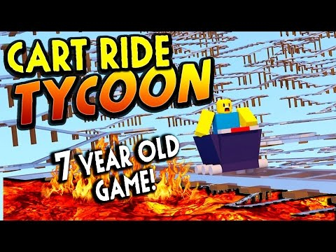 7 year old Cart Ride Tycoon!