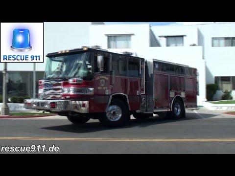 Engine 1 + Ambulance 1 Oceanside Fire Department