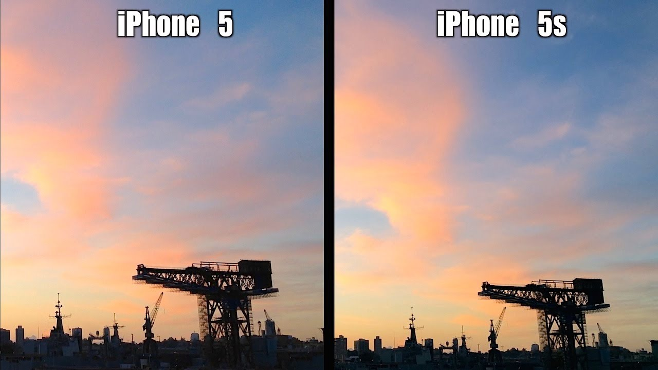 IPHONE 5 VS 5S KAMERA