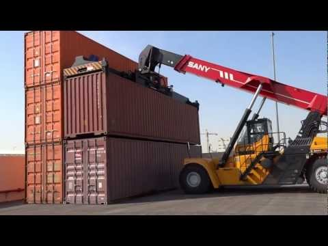 1st-CONTAINER LOADING UNLOADING  SESSION ONLINE  BY  SANY  AT DAMMAM-PART-2