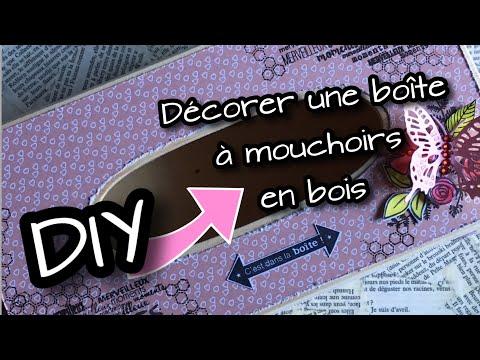 Decorer Une Boite A Mouchoirs En Bois Fait Main 05
