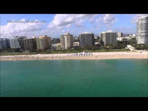 Surfside Florida Aerial Video - MiamiBeachRealtor.com
